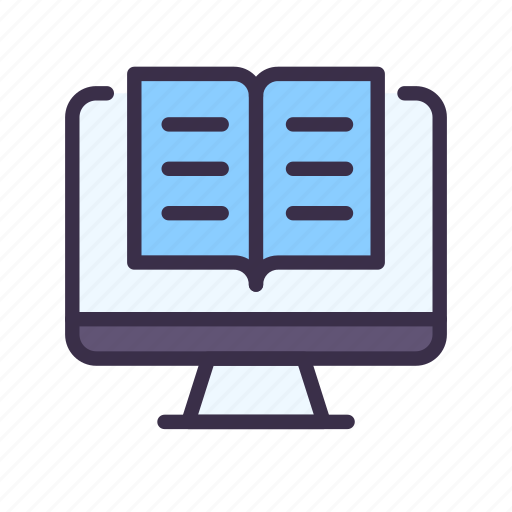Book, education, elearning, learning, lesson, online, read icon - Download on Iconfinder