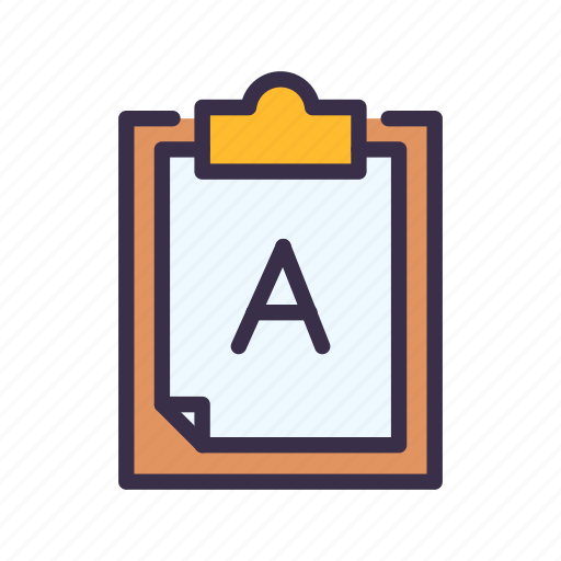 Education, elearning, learning, lesson, report, study icon - Download on Iconfinder