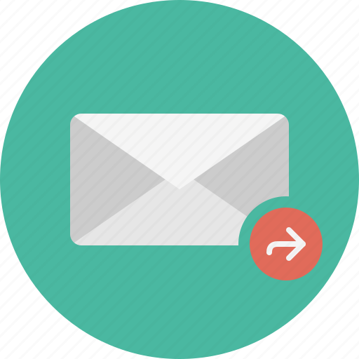 email, envelope, forward, mail icon