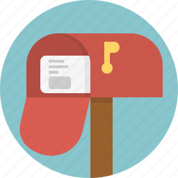 box, envelope, mail, mailbox, post icon