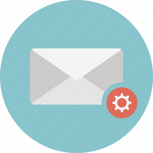 close, email, envelope, mail, settings icon