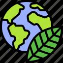 earth, environment, ecology, leaf, green, globe, nature