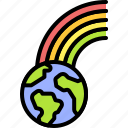 earth, environment, ecology, rainbow, lgbt, day, pride