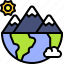 earth, environment, ecology, mountain, nature, landscape, planet