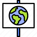 earth, environment, ecology, placard, planet, world