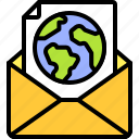 earth, environment, ecology, eco, day, envelope, letter