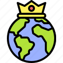 earth, environment, ecology, eco, king, crown, day