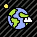 earth, environment, ecology, moon, solar system, globe