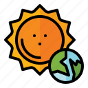 earth, day, ecology, environment, globe, sun