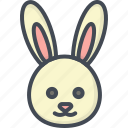 bunny, easter, holiday, rabbit icon
