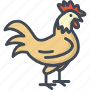 animal, chick, chicken, easter, holiday icon