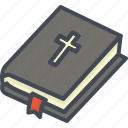 bible, book, easter, holiday, religion icon