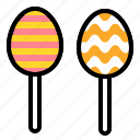 chocolate, easter, egg, sweets icon