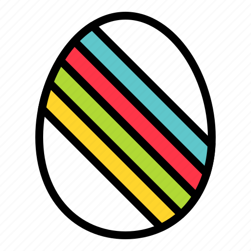 easter, easter egg, egg, food, paschal egg icon