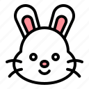 animal, bunny, easter, rabbit icon