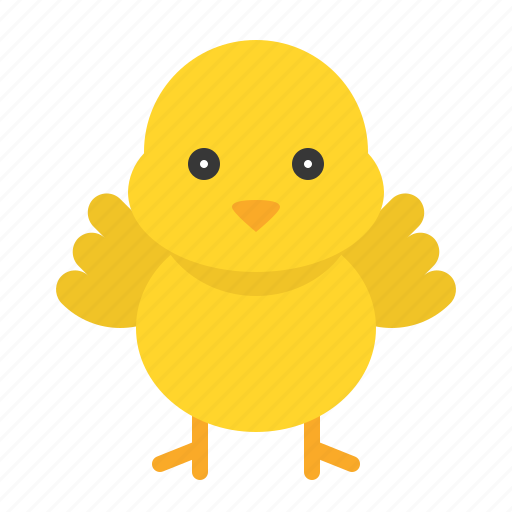 animal, chick, chicken, easter icon