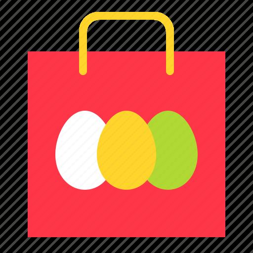 Bag, easter, easter egg, shopping icon - Download on Iconfinder