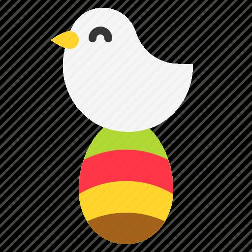 Bird, dove, easter, easter egg, egg icon - Download on Iconfinder