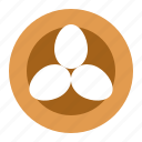 bird nest, easter, egg, nest icon