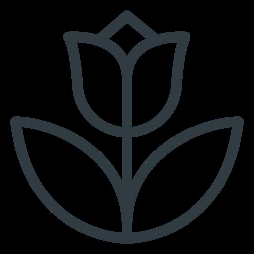 flower, spring, tulip icon