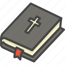 bible, colored, easter, holidays icon