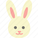 bunny, easter, holidays, rabbit icon