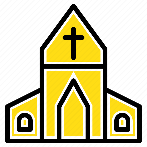 Church, cross, easter, house icon - Download on Iconfinder