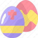 celebration, decoration, easter, egg, eggs icon