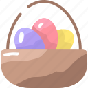 basket, egg, easter, culture