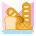 bakery, bread, food, pastry, wheat
