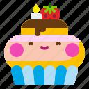 cake, celebration, cupcake, dessert, food