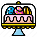 cake, celebration, dessert, easter, food