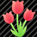 bouquet, celebration, easter, flower, spring, tulip icon