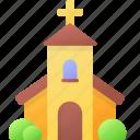 building, catholic, church, easter, religion, spring icon