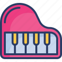 education, forte piano, grand, instrument, music, piano, sound