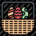 basket, christmas, gift, celebration, holiday, egg