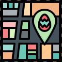 map, location, pin, gps, navigation, egg