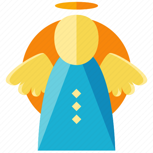 angel, celebration, christmas, easter, wings icon