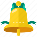 alert, bell, celebration, decoration, easter, ring icon