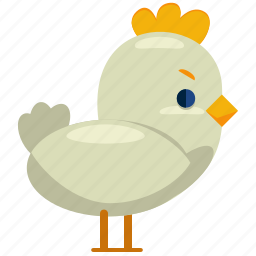 animal, bird, chick, chicken, easter, nature icon