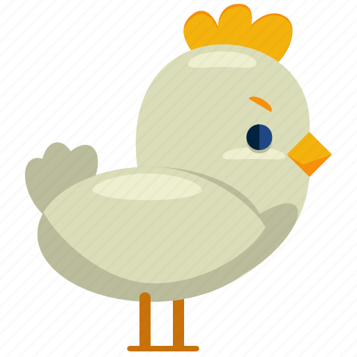 Chick, chicken, easter, bird, animal, nature icon