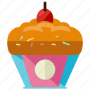 cupcake, bakery, cake, dessert, food, sweet