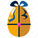 celebration, decorated, decoration, easter, egg, eggs icon
