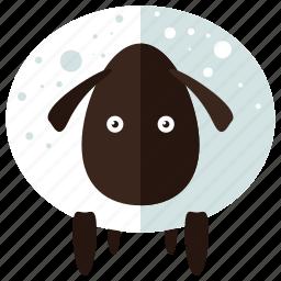 animal, celebration, easter, farm, sheep icon
