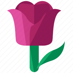 easter, floral, flower, plant, tulip icon