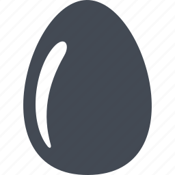 easter, easter egg, egg, food icon