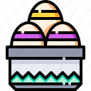 celebration, christian, easter, egg, eggs, greeting, holiday icon