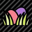 easter, egg, grass, hidden icon