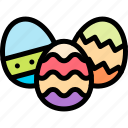 colored, easter, egg, eggs icon