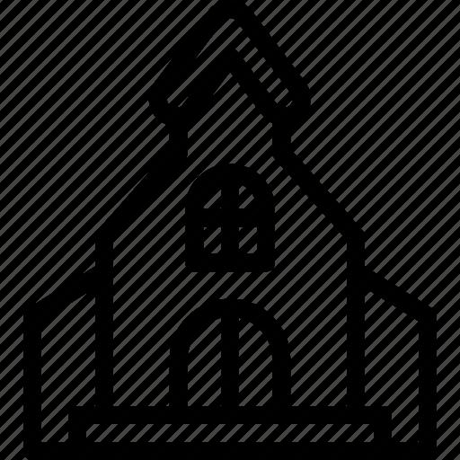 church, easter, egg, pray icon
